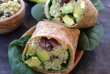 feta cheese black bean wraps