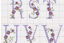 Çiçekli harfler 2