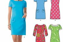 shift dress pattern and ideas