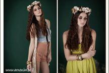 wedding hair with flowe  זרי שיער לכולת  / wedding hair with flowe  זרי שיער לכולת