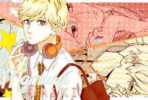 Hirunaka no Ryuusei / manga&anime