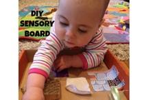Baby Sensory Board ideas