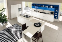 Mood - Kitchen & Living / Design by Silvano Barsacchi | Contemporary taste and quality of life in the kitchen / by Scavolini