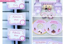Spa Party Ideas / Inspirational Ideas for a Fun and Pampering Party!