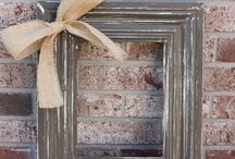 SHABBY CHIC FRAME IDEAS / by Marcy
