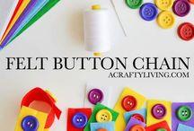 Button felt
