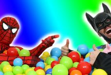Spiderman Real Life / #Spiderman #SuperHeroes #BallPit #RealLife #SuperHeroesRealLife #SpidermanRealLife