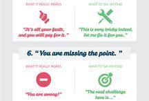 Infographics / Social media & marketing infographics