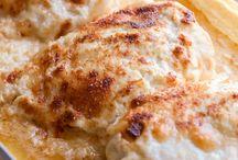 Swiss chicken bake