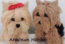 Crochet yorkie patternand video