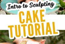 cake sculpting