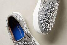 rhinestone sneakers