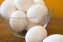 Cooking Tips /  Peeling Hard boiled eggs - Tying a chicken up to bake