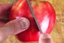 cigno con mela