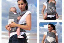 Portabebés / Si quieres que tu bebé disfrute contigo de tus paseos al aire libre estos portabebés te pondrán fácil.