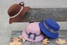 Coleccion Lady / Elegantes sombreros realizados en fieltro de lana y adornados con diferentes fornituras. Diseños unicos para lucir como una autentica diva.