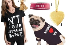 Pooch And Person Style / For the fashionista and her four-legged best friend.  / by Christine Martinez Loya