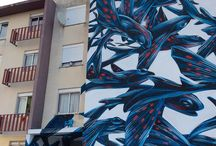Architectural Facade Paintings