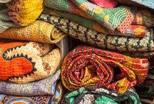 Vintage Katha quilts