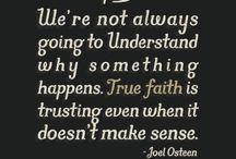 Faith, Love & the Good Lord