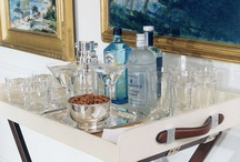 Bar Carts and Alcoholic Beverages / by Lauren Oxwell