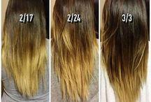 Strong long hair supplements + skin
