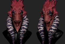 3D Refs - Aliens