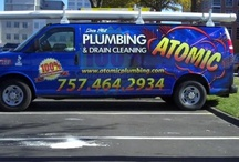 About Us / Atomic Plumbing offers quality plumbing installation and repair to Virginia Beach, Norfolk, Portsmouth, and around Hampton Roads. Learn more about us!