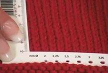 Knitting - Stitches & Techniques
