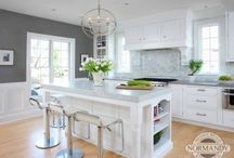 Paint Color Ideas for the home / Real homes, with real paint colors.  These paint shades show up in magazines and on the hot home improvement shows.  Find the best paint color for your home!