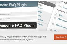 13 WordPress FAQ Plugins / It is the easy way to implement complicate codes in sites, instant plugins. This collection of WordPress FAQ Plugins gives a space to clarify your customer questions.