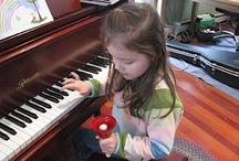 Piano lessons / by Annie Luebke