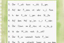 lernen Mathematik und deutsch