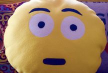 Sew - Emoji Pillows