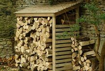 Woodworking ~ Logs, Sticks, Wood and Such / Stuff that can be made from logs, sticks, wood. / by Jan Johnson