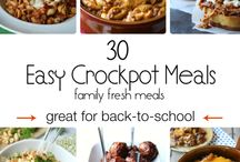 Crock 'O...Family Meals / by Angie Enloe
