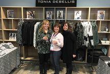 Tonia DeBellis on location!