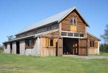 American country barn