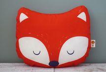 Fuchs, Fox, Kleidung, Kissen, Kuscheltiere
