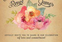 Wedding Invite Ideas / by Brittany Strycharz