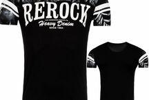 Heren Heavy Denim T-Shirt