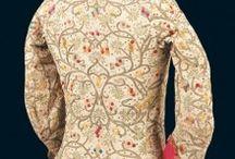 gamla kläder dam 1600 1700