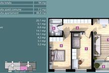 3 camere in Sisesti