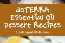 Edible recipes with essential oils