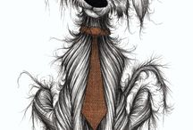Keith Mills Dog Illustrations