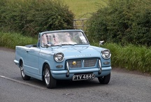 Triumph Herald / First introduced in 1959 produced by Standard Triumph total sales numbered well over half a million. Last produced in 1971