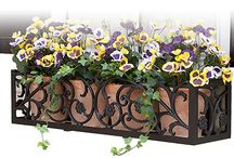 Hooks & Lattice Window Boxes / Displaying our unique and beautiful window boxes. Here you will find design ideas for all homes! Whether you are looking to up your curb appeal, or just want a flower box for your own viewing, you will find your ideal style here!