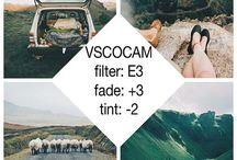 VSCO filters for Travel