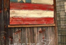 Stars and Stripes / One of the things that Southern Accents Architectural Antiques is known for is our huge American flag that proudly hangs in our showroom. We are proud of our country and our American heritage. We love seeing so many unique ideas on how to use salvaged materials to display and celebrate this great symbol of freedom. Visit us online at www.sa1969.com