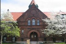 The Clapp / A beautiful 1887 building houses the Clapp Memorial Library / by Clapp Memorial Library